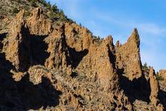 Teide National Park Roques de Garcia in Tenerife at Canary Islan Stock Photos