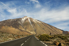 Teide National Park Roques de Garcia in Tenerife at Canary Islan Royalty Free Stock Images