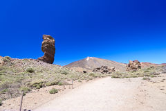 Teide National Park Roques de Garcia Royalty Free Stock Images