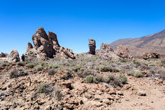 Teide National Park Roques de Garcia Royalty Free Stock Photo