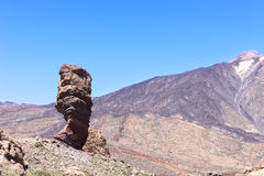 Teide National Park Roques de Garcia volcano Stock Photography