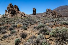 Teide National park at Teneife, Spain Stock Photos