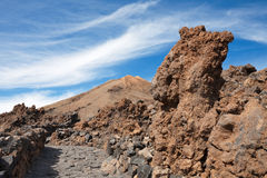 Teide National Park. Tenerife. Canary Islands Royalty Free Stock Images