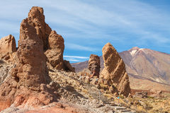 Teide National Park. Tenerife. Canary Islands Stock Photos