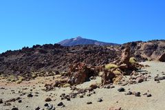 Teide National Park. Tenerife, Canary Islands, Spain Royalty Free Stock Photo