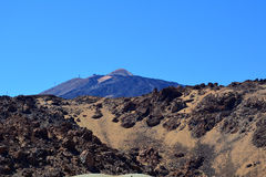 Teide National Park. Tenerife, Canary Islands, Spain Stock Images
