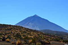 Teide National Park. Tenerife, Canary Islands, Spain royalty free stock photography