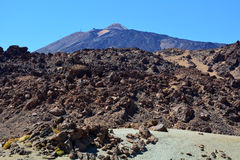 Teide National Park. Tenerife, Canary Islands, Spain Stock Photography
