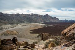 Teide National Park, Tenerife, Canary Islands, Spain Royalty Free Stock Photo