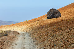 Teide National Park, Tenerife, Canary Islands, Spain Royalty Free Stock Images