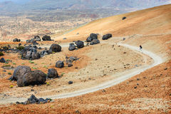 Teide National Park, Tenerife, Canary Islands, Spain Stock Images