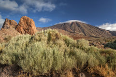 Teide National Park, Tenerife, Canary Islands, Spain Royalty Free Stock Photos