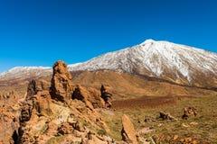 Teide National Park Tenerife Canary Stock Photos