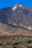 Teide National Park in Tenerife Stock Photography