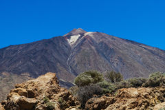 Teide National Park in Tenerife Royalty Free Stock Image