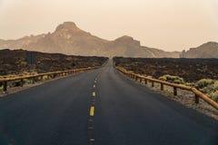 Teide National Park on Tenerife island in Spain Stock Photography