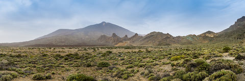 Teide National Park on Tenerife island in Spain Royalty Free Stock Photo