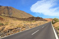 Teide National Park Royalty Free Stock Image