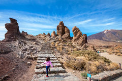 Teide National Park. Tenerife, Spain Royalty Free Stock Image