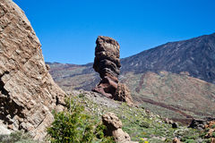 Teide National Park in Tenerife Royalty Free Stock Photos