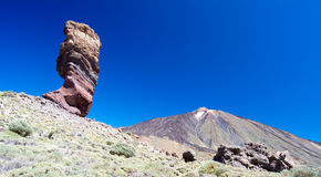 Teide nationalpark Royaltyfria Bilder