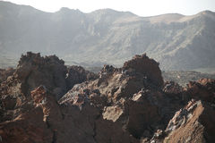 Teide nationalpark Arkivbilder