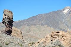 Teide nationalpark Tenerife, Spanien Arkivfoto