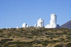 Teide observatory Royalty Free Stock Photos