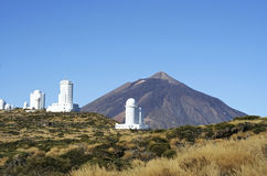 Teide observatory Stock Images