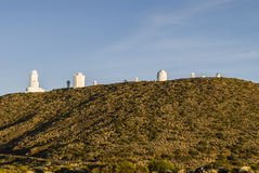 Teide Observatory Royalty Free Stock Images