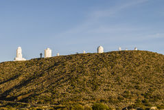 Teide Observatory Royalty Free Stock Image