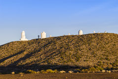 Teide Observatory Royalty Free Stock Photography