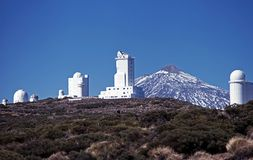 Teide Observatory, Tenerife. Stock Photos