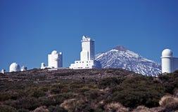 Teide Observatory, Tenerife. Stock Photos