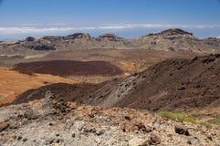 Teide park narodowy Obrazy Royalty Free