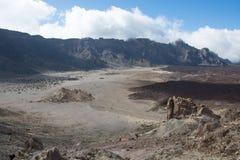 Teide park narodowy, Tenerife - najwięcej spektakularnej podróży dest zdjęcie stock