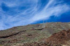 Teide parka narodowego widok Zdjęcie Stock