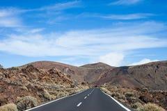 Teide parka narodowego widok Zdjęcia Royalty Free