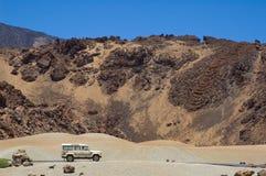 teide pico горы del лавы Стоковая Фотография RF