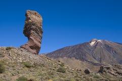 teide rocas las стоковое изображение