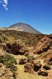 Teide rocks 2 Stock Image