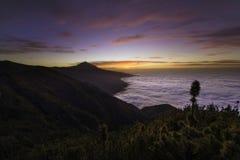 Teide sunset Royalty Free Stock Images