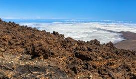 Teide Surface Royalty Free Stock Image
