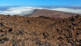 Teide Surface Royalty Free Stock Image