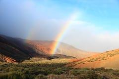 teide tenerife национального парка Стоковое Изображение