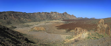 At the Teide, Tenerife. Spain Stock Photos