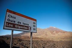 Teide, Tenerife Royalty Free Stock Photos