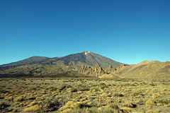 Teide, Tenerife. The majestic summit of the Teide volcano on Tenerife Royalty Free Stock Images