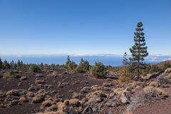 Teide Tenerife volcano Stock Images
