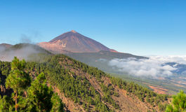 Teide in Tenerife Royalty Free Stock Image